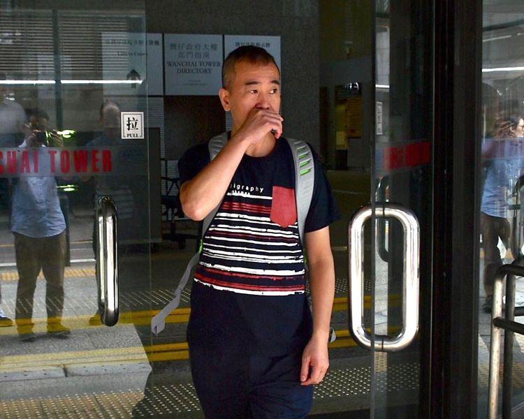 值日官警署警長馬國強上庭作供。
