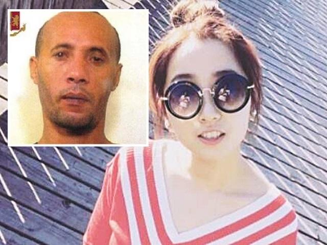 24歲中國女子被摩洛哥裔男子殺死。網圖