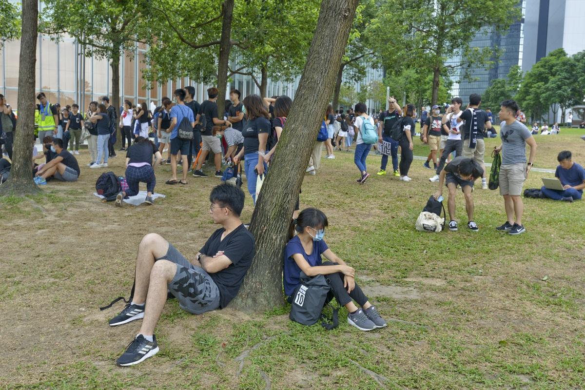 有學生組織呼籲9月2日開學日起全港罷課。資料圖片