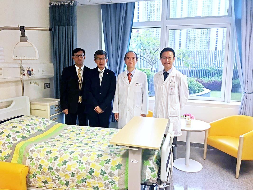 新界西醫院聯網增加105張病床,其中天水圍醫院佔70張。