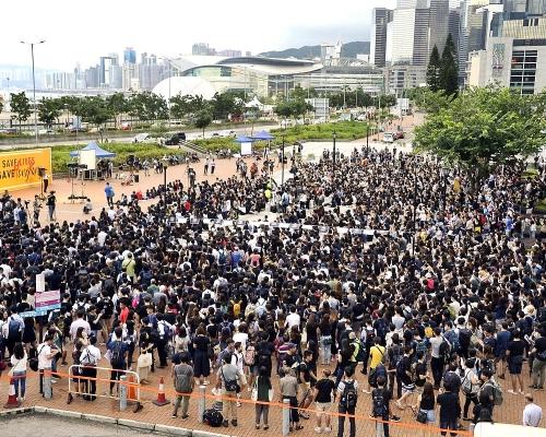 【逃犯條例】中學生周四中環集會 獲發不反對通知書