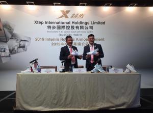 【1368】丁水波:計劃未來為品牌特步開設200間店