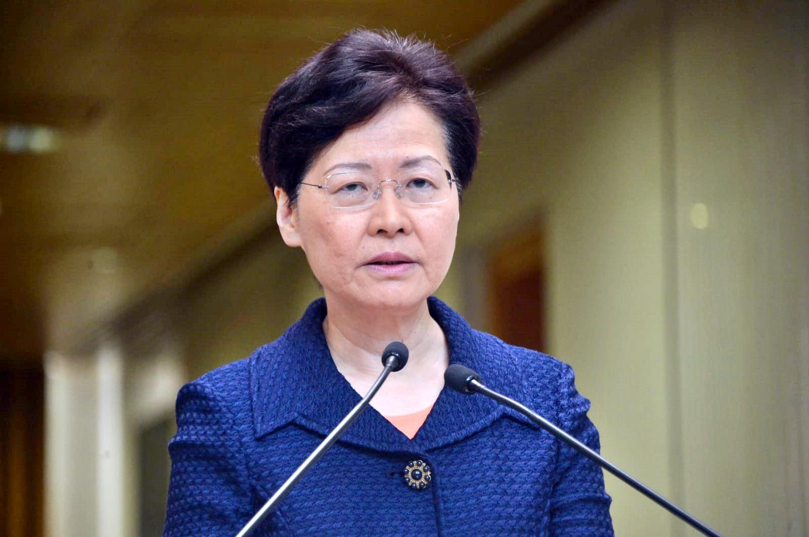 林鄭月娥昨天宣布監警會將擴大調查範圍。