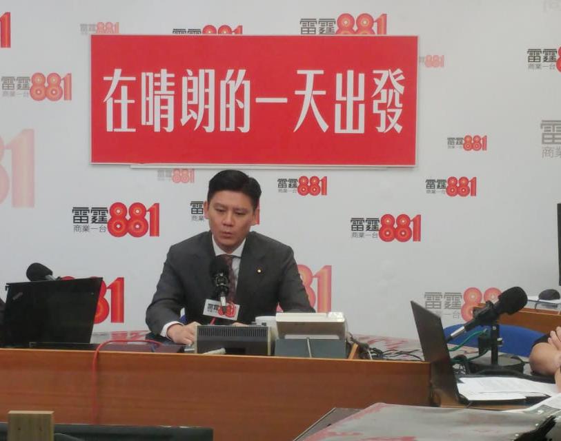 立法會議員譚文豪。