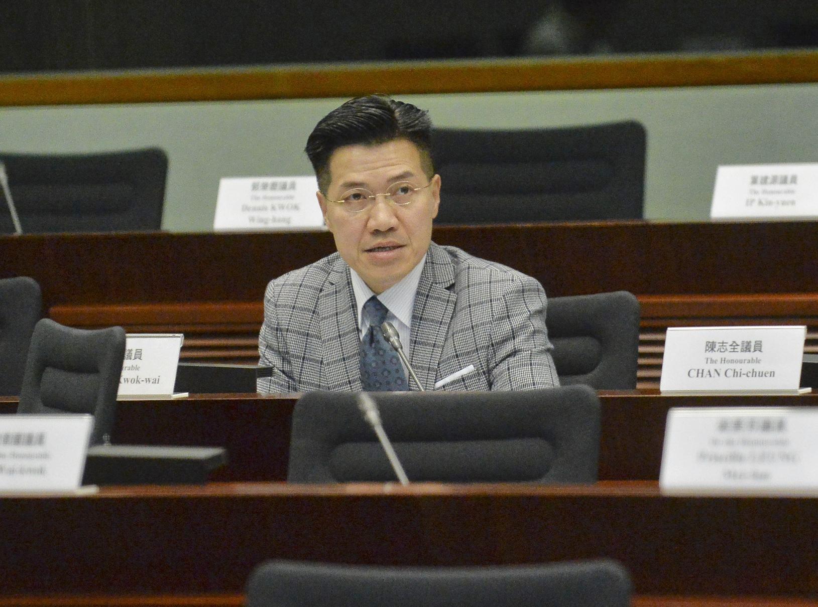 范國威批評警方選擇性執法。資料圖片