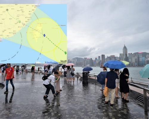 【外遊注意】風暴「白鹿」形成料趨台灣 天文台預測香港400公里外掠過