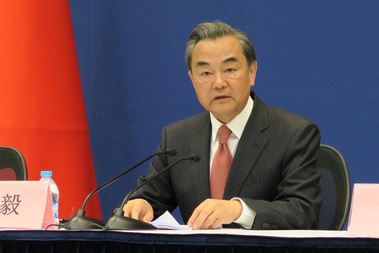 王毅表示,應支持特區政府止暴制亂。 資料圖片
