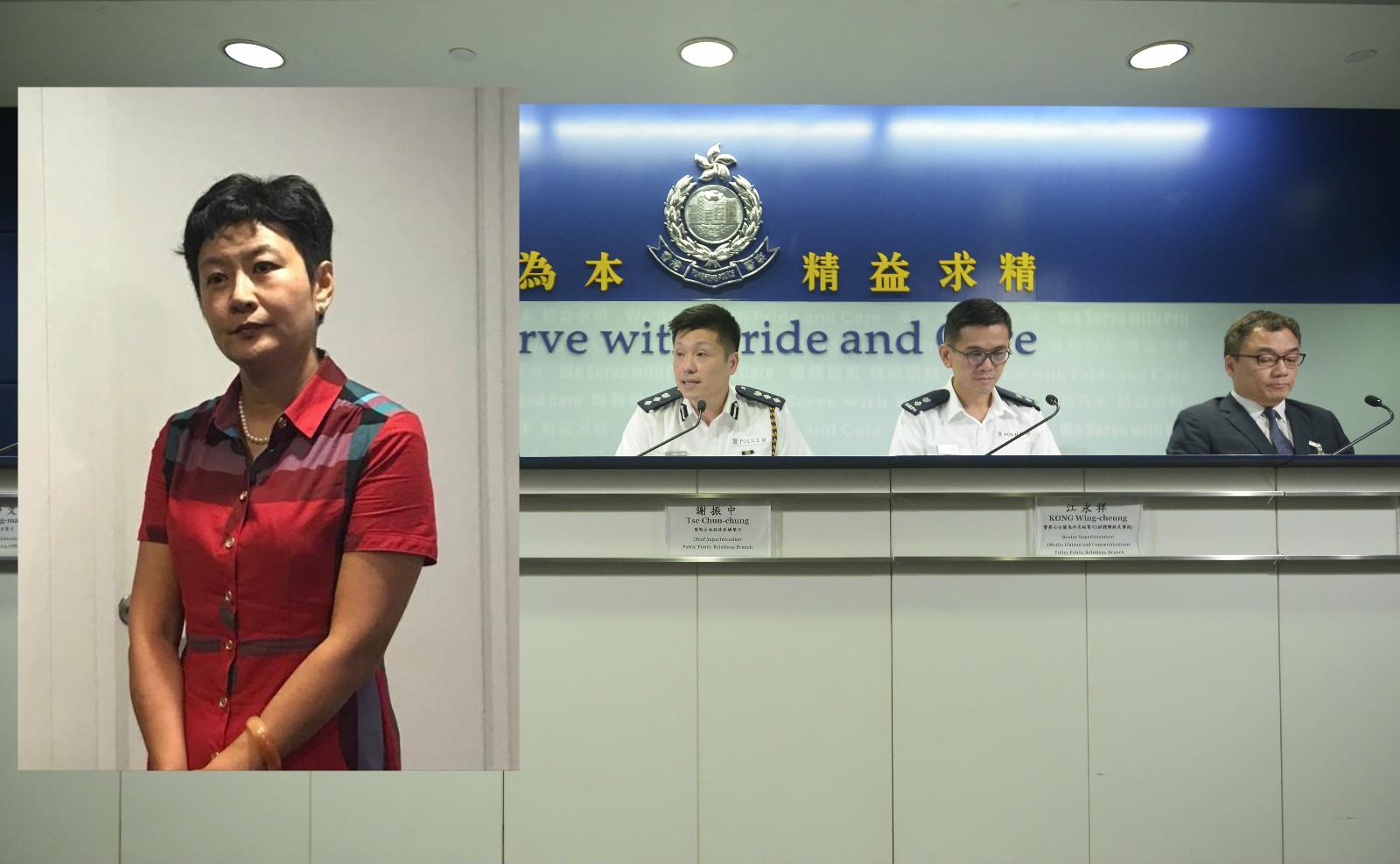 廣東廣播電視台指香港記者站站長陳曉前(左圖)。資料圖片