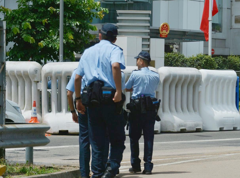 謝振中承認。部分警區取消警員行beat。資料圖片