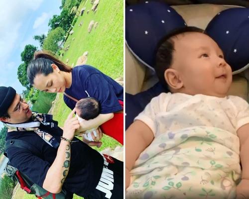 連日出Post晒天倫之樂 雯雯貼兒子笑片:每天聽到他的笑聲就很滿足