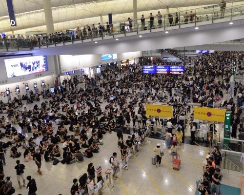 【逃犯條例】機管局解僱兩員工 疑曾表態支持示威者並參與遊行