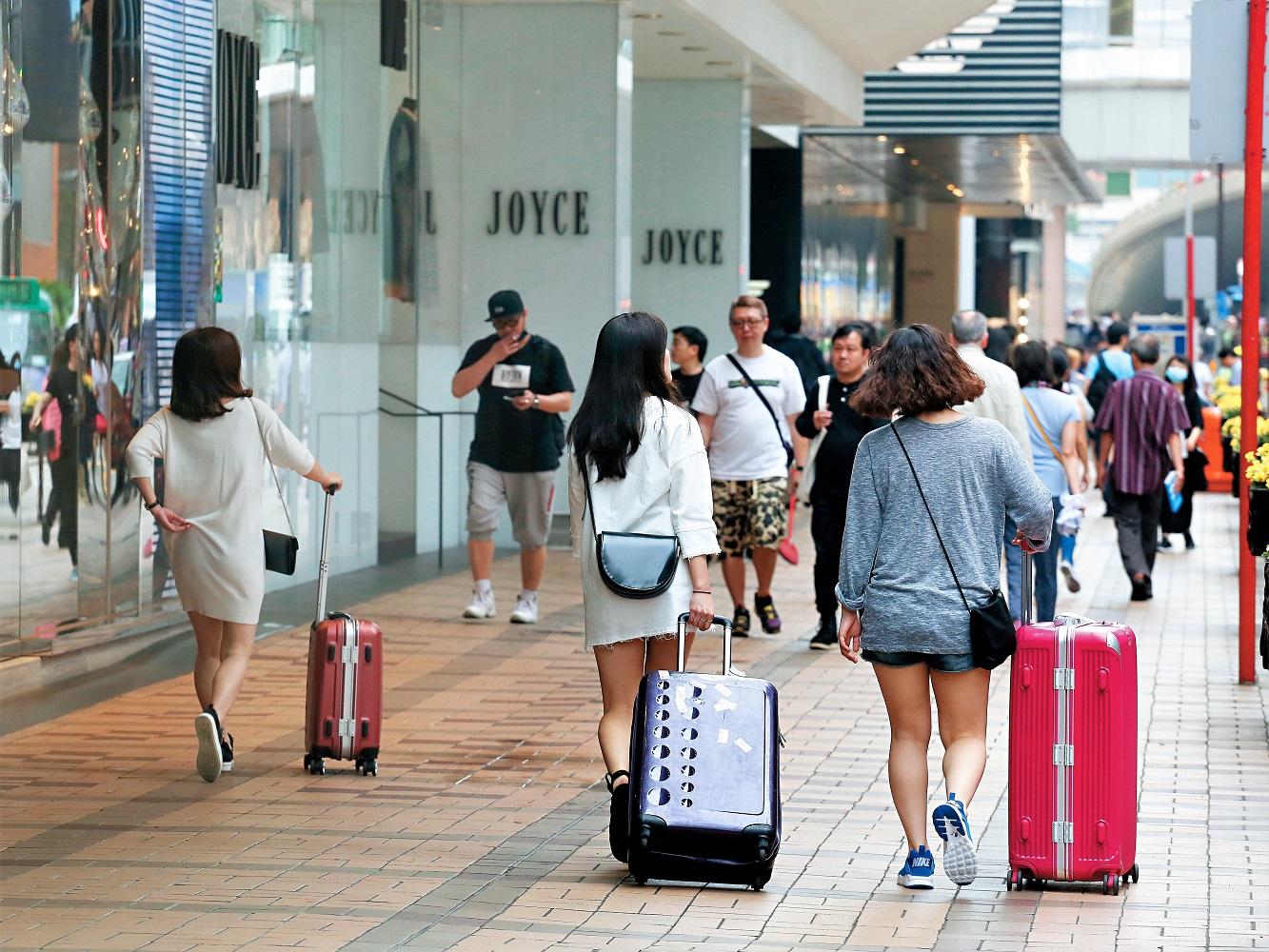旅客減少,酒店業生意受到影響。資料圖片