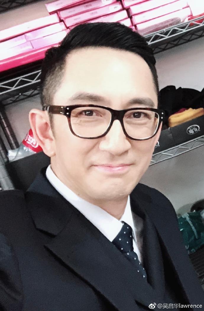 55歲吳啟華微博發聲:身為一個中國人,真的感到無比自豪。網圖
