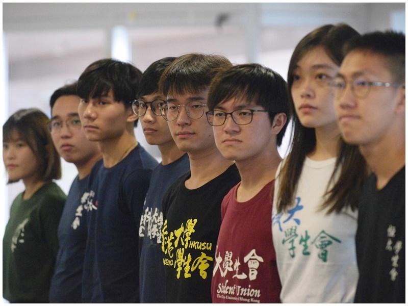 大專學生會發起9月2日罷課。