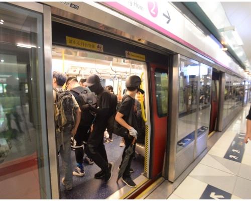 港鐵:遇暴力可即停止車站運作及列車服務