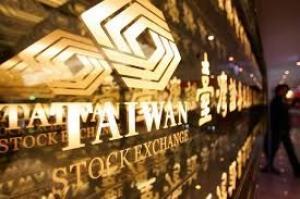台灣加權指數收漲0.08% 報10538