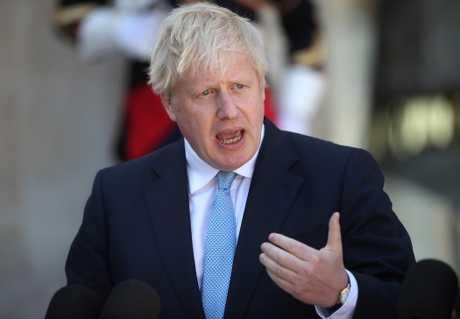 歐盟領袖與約翰遜將首度會面,就脫歐議題商討。AP