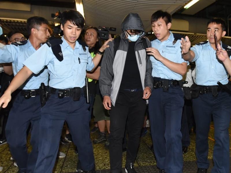 一男子涉傷人被捕。