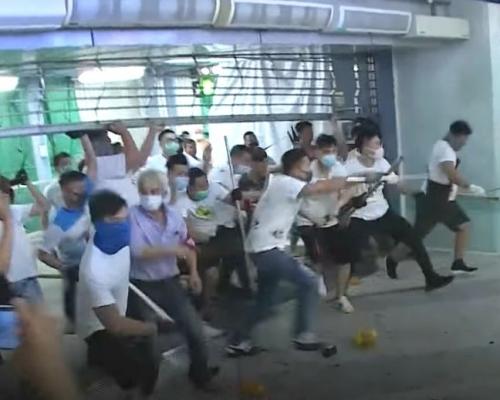 【元朗暴力】兩運輸及電纜工人被控參與暴動 今提堂
