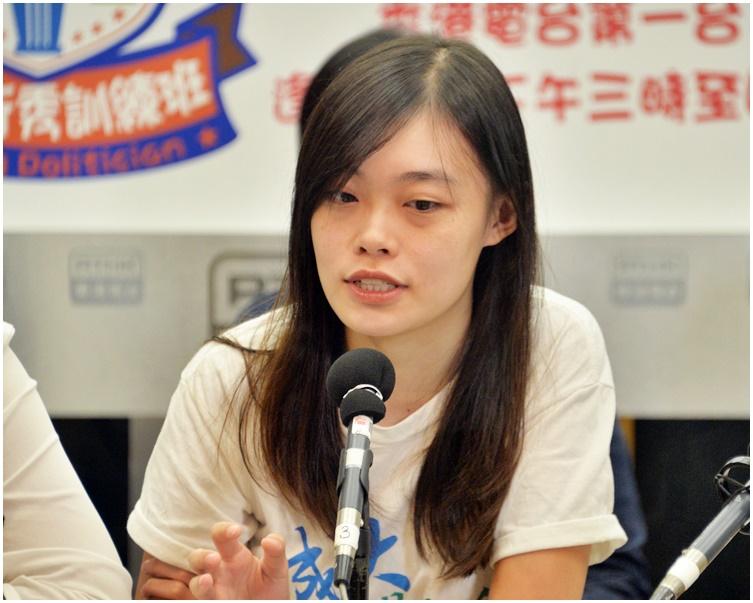 邵嵐對參與罷課的大專學生人數感樂觀。資料圖片