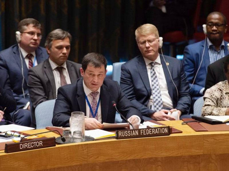 聯合國安理會開會商討中程導彈問題,俄羅斯代表警告將會引發新一輪軍備競賽。(網圖)