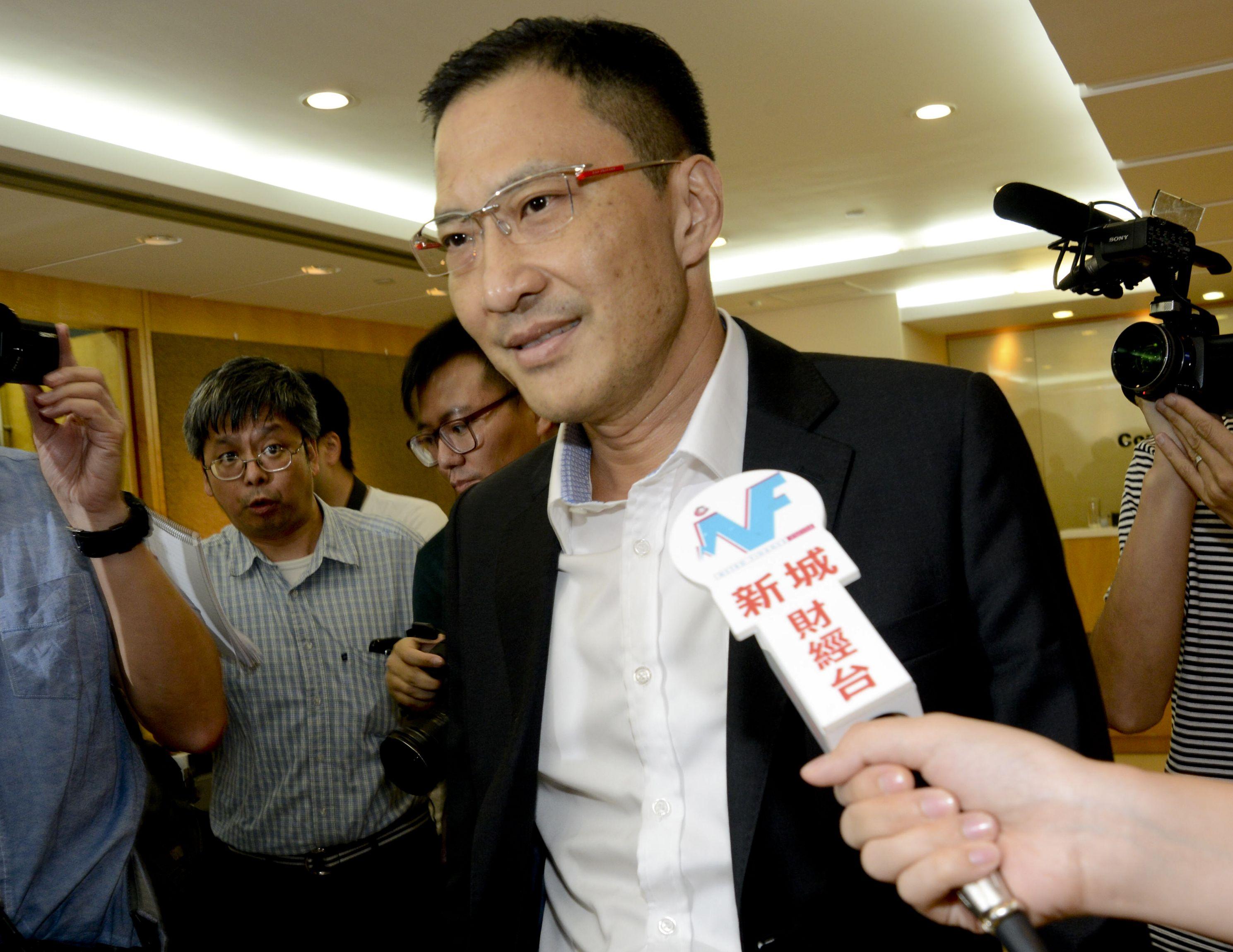 蔣志堅入稟高等法院申請原訟傳票。