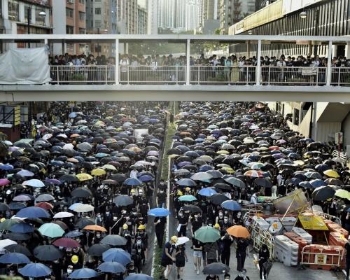 【逃犯條例】「荃葵青」大遊行獲警發反對通知書 只批荃灣公園集會