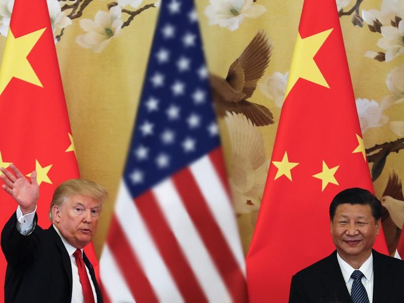 中國將向美國750億美元商品,加徵半成至一成關稅。AP