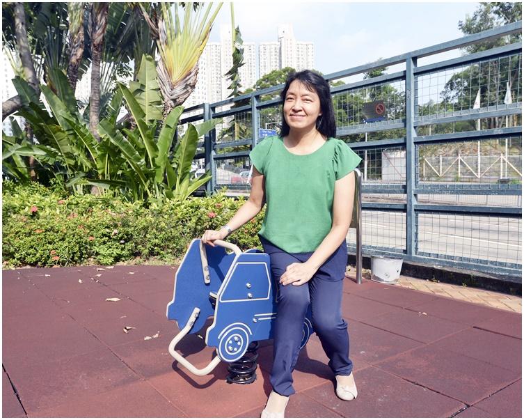 林國嬿九九年獲邀加入兒童癌病基金,成為全港首批兒童紓緩治療護士。