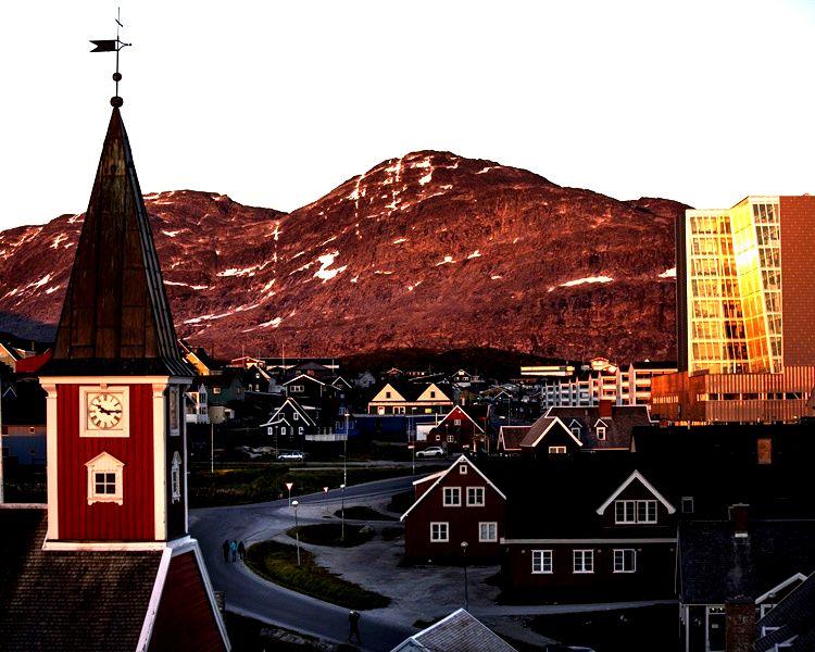 美國計畫在格陵蘭首府努克市重開領事館。AP