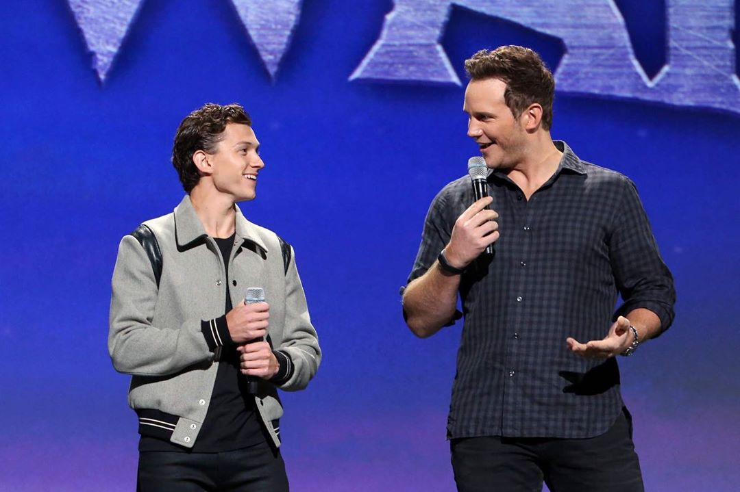 Tom Holland與Chris Pratt(網圖)