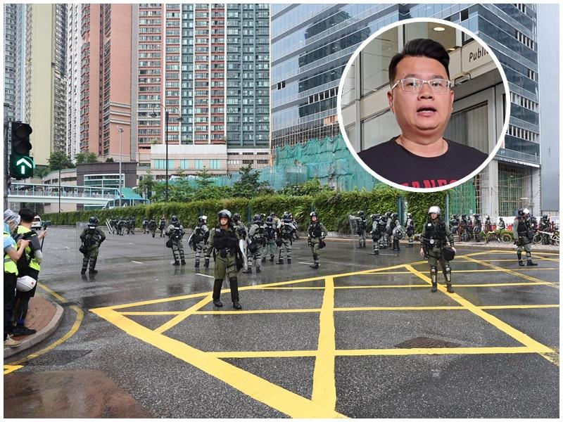 尹兆堅(小圖)要求港鐵重開荃灣西及荃灣站。小圖為資料圖片