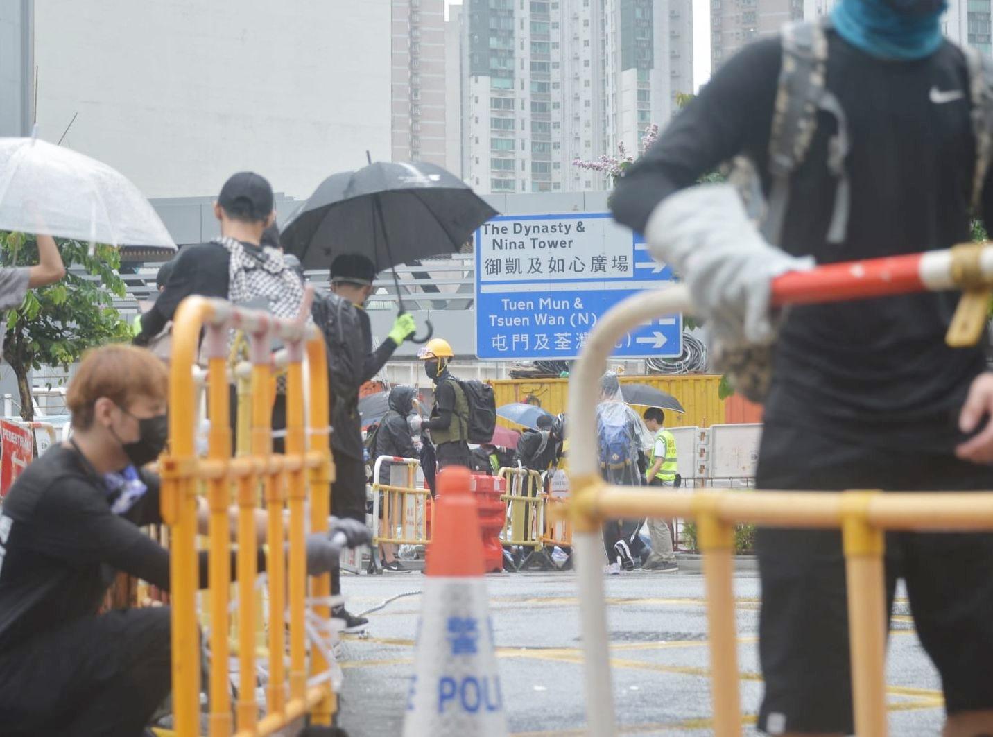 【荃葵青遊行】警方:短時間內清場 促停止所有違法行為