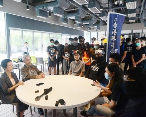 【逃犯條例】珠海學生集會聲援受傷學生 校方拒責警:不在場無足夠資料