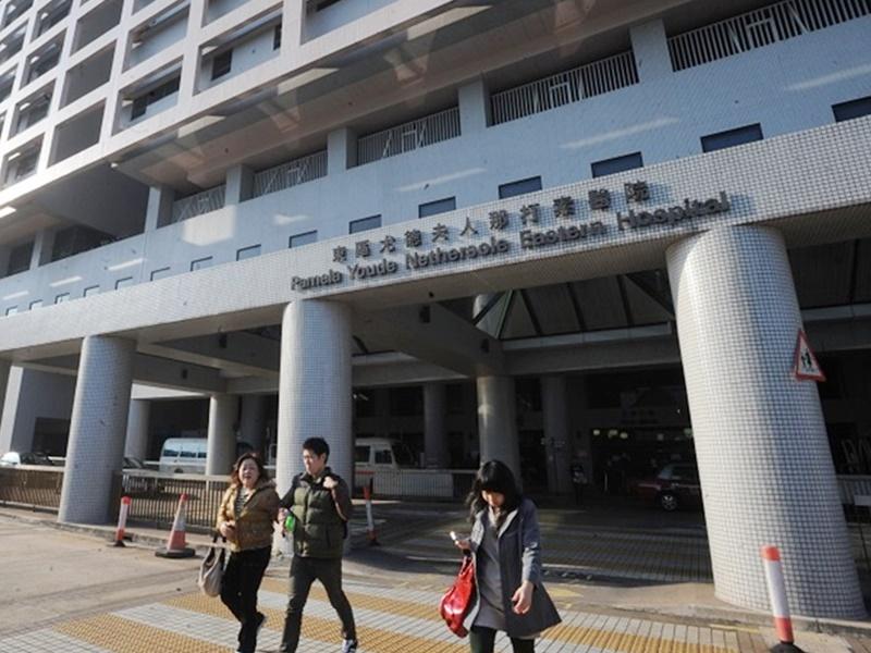 東區醫院醫護人員發聯署聲明,要求政府回應市民五大訴求。資料圖片