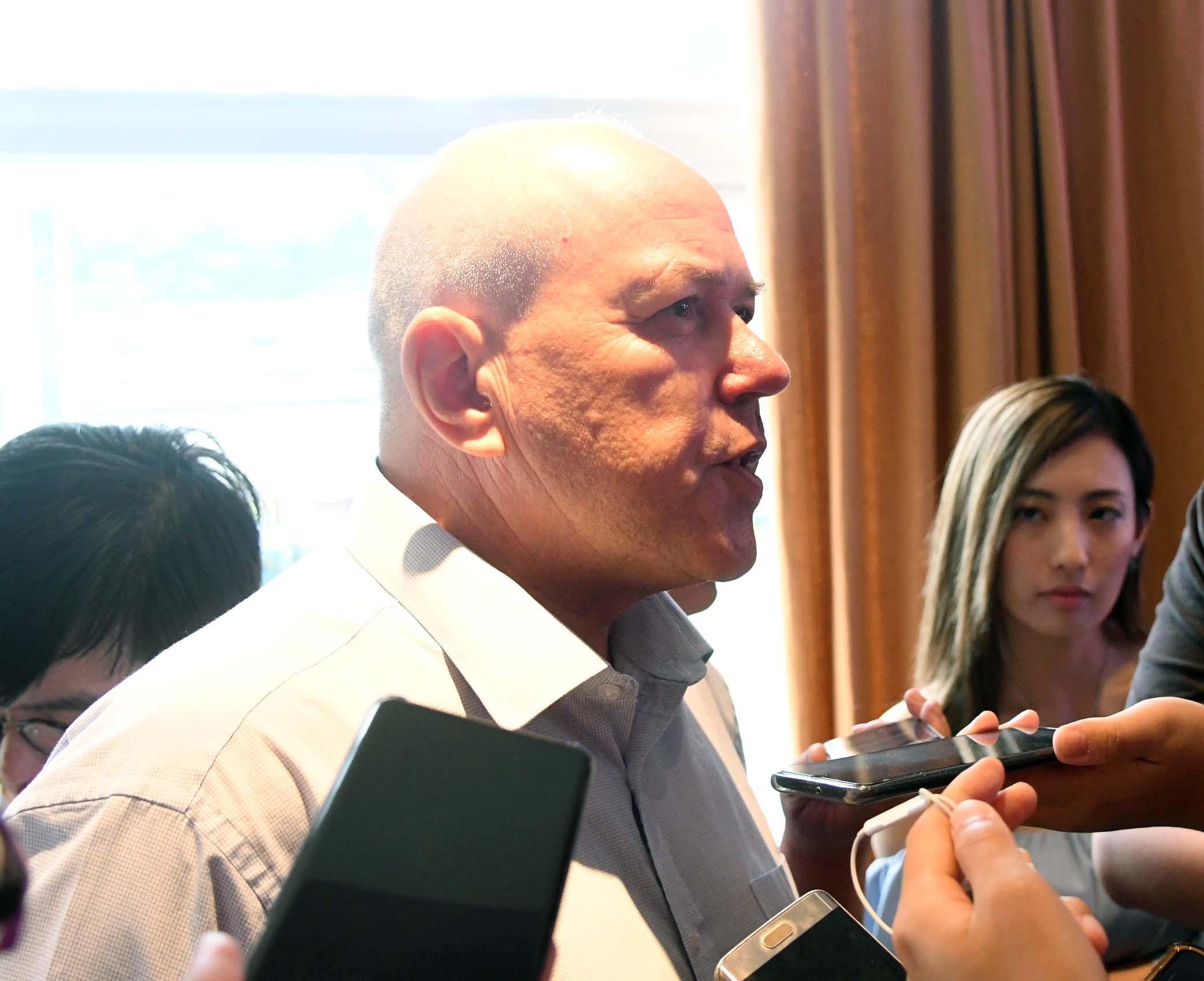 溫達倫指一直與亞洲足協緊密聯繫,已將比賽的保安資料傳送至當局,並在周日獲得首肯。郭晉朗攝
