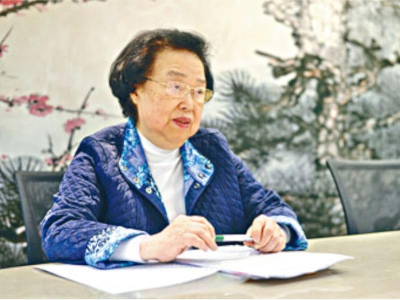 譚惠珠表示,可透過《緊急法》立例禁止示威者「蒙面」。