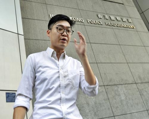 【逃犯條例】涉參與暴動及襲警 陳浩天赴日本前機場被捕