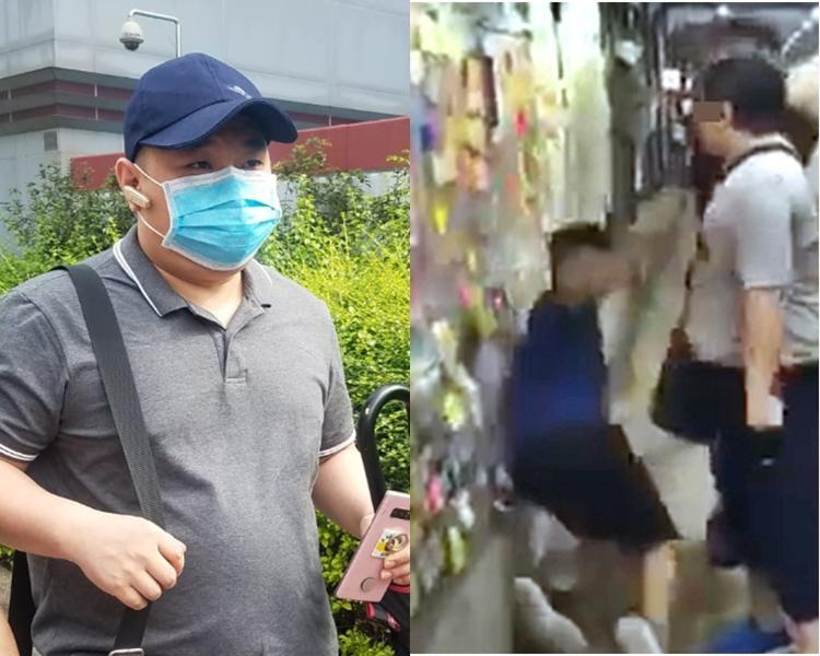 被告黃堅海涉嫌襲撃2名男子。