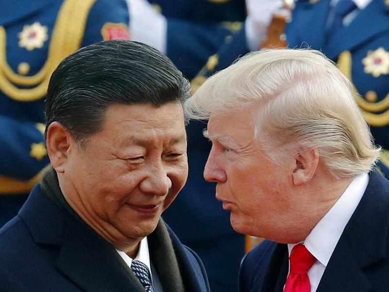 特朗普表示,中美的貿易談判計畫沒有改變,仍會在本月舉行。
