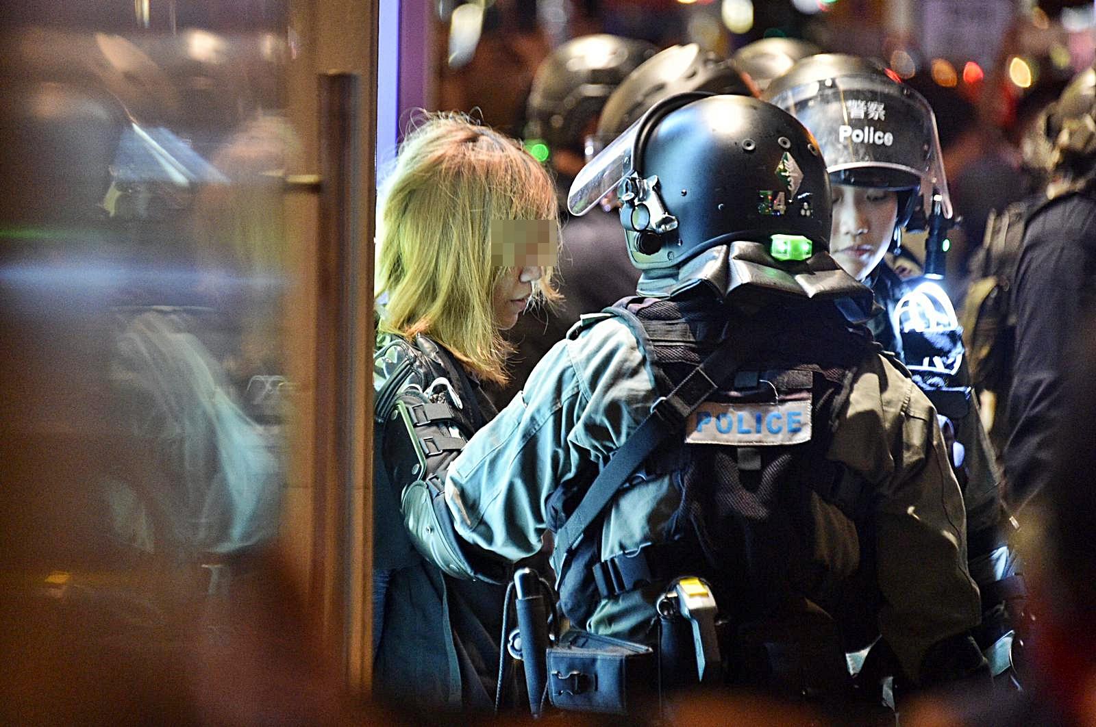 多人被捕。