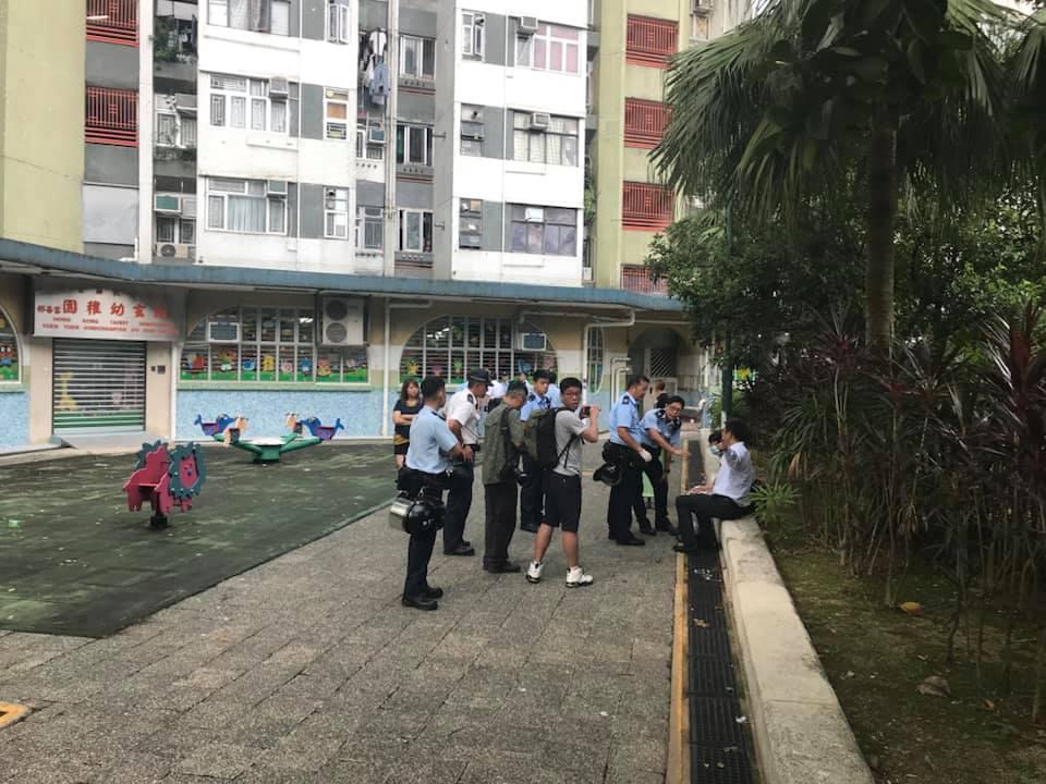 疑有學生受傷。Calvin Li圖片