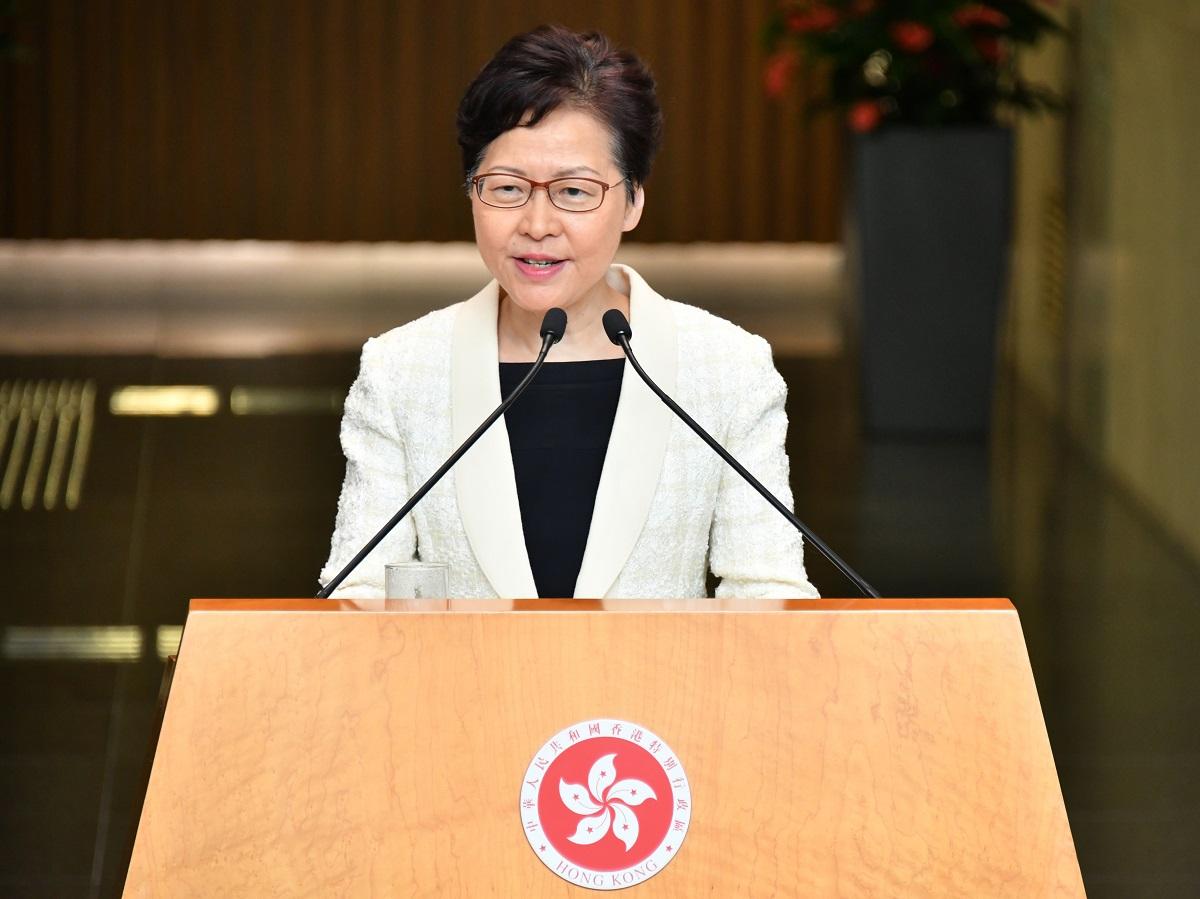 民主派質疑行政長官林鄭月娥是中央傀儡。