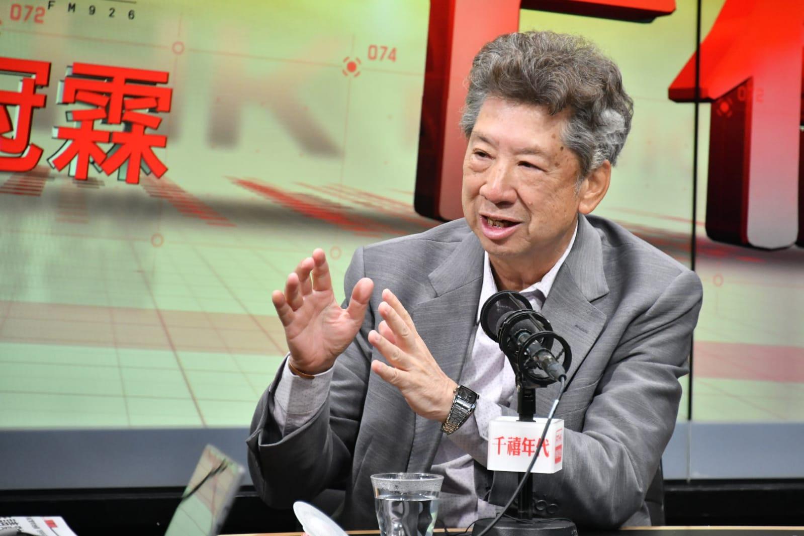 湯家驊稱林鄭月娥應留任,又指特首有權委任特務警察,負責事務無界定。