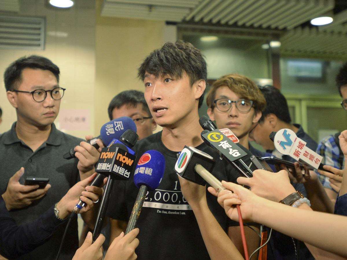 民陣召集人岑子杰表示,撤回是一個好的開始,但遠不足夠。資料圖片
