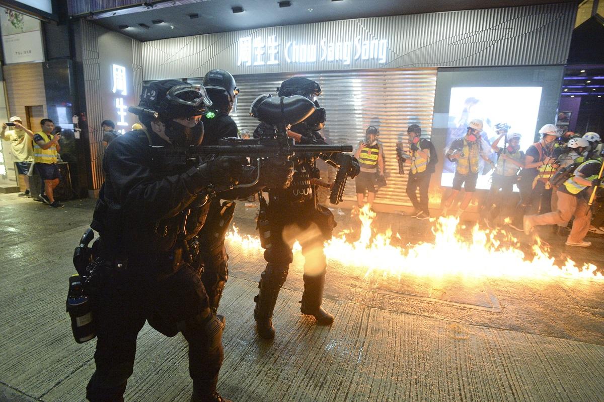 廠商會及中總呼籲回復理性停止暴力。資料圖片