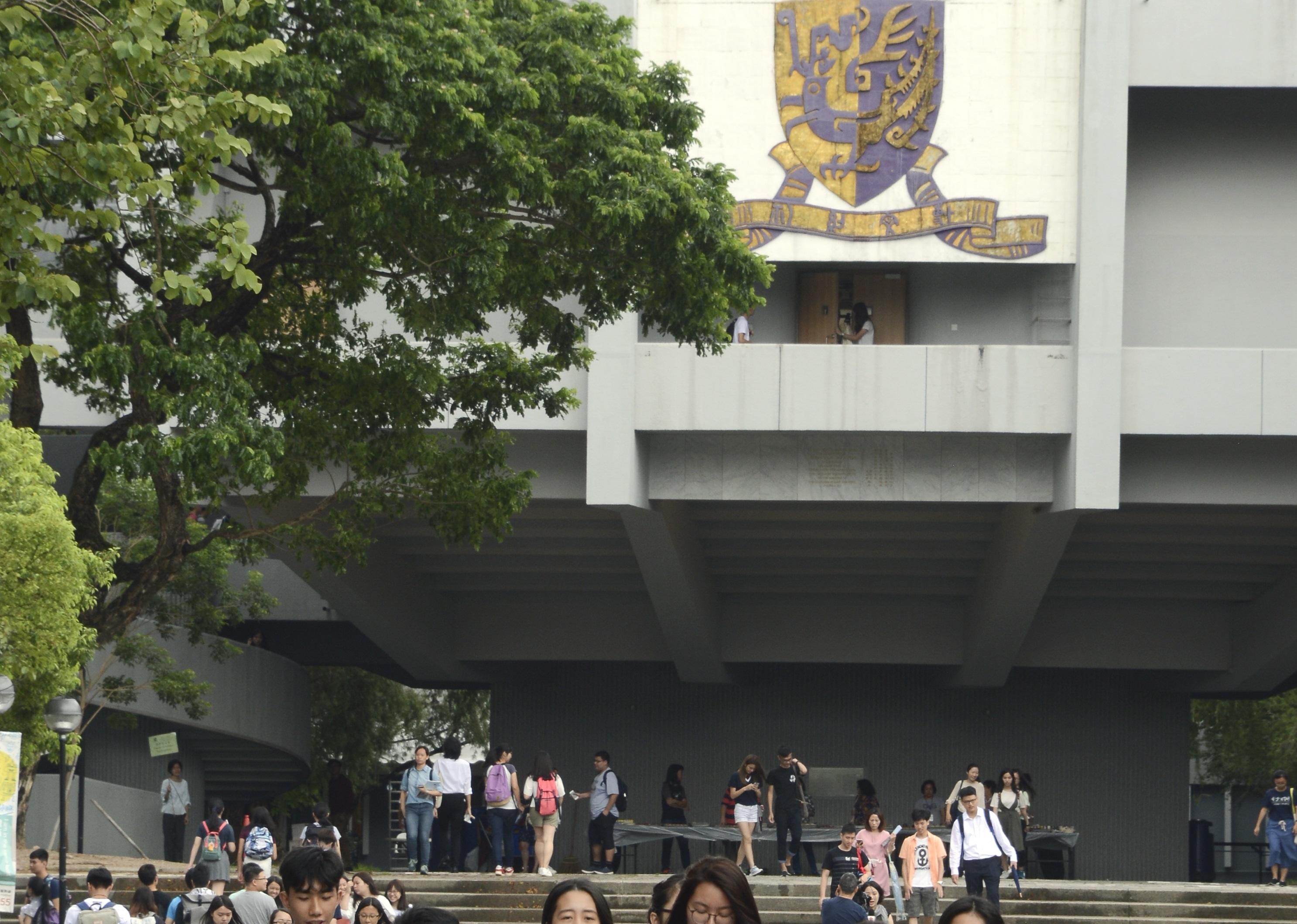 中文大學迎新營(O Camp)早前爆出懷疑性侵事件。資料圖片