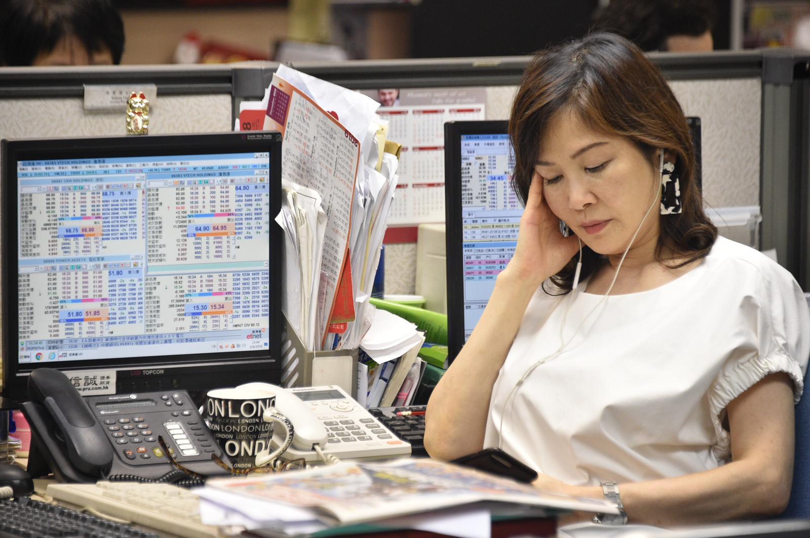 港交所下午兩時起暫停衍生產品市場交易。