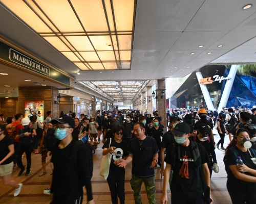 【修例風波】今明有網民發起在多個商場聚集靜坐 再圖塞機場交通
