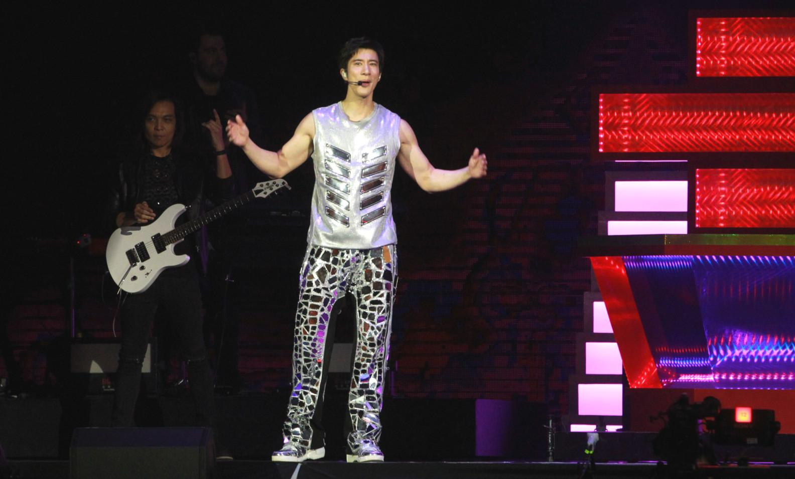 王力宏宣布11月的香港演唱會押後。資料圖片